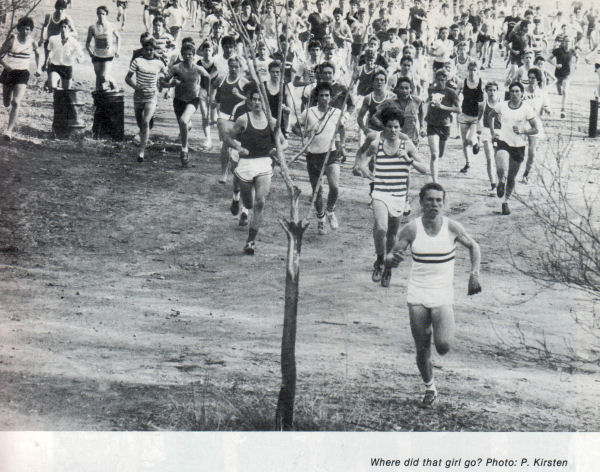 The start of the cross country 1979