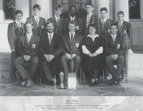 Chess A Team - The Pretorian 1999