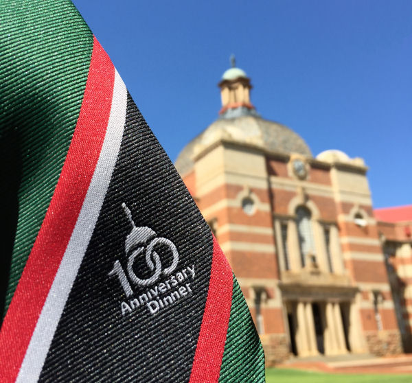 100th Annual Dinner Commemorative Ties