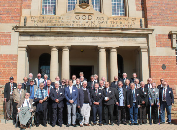 CLASS OF 1959 - 60 YEAR ON REUNION
