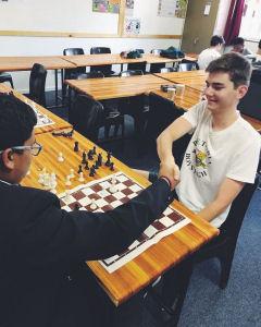 PBHS Chess team