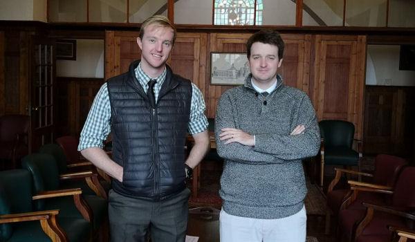 Craig Stephens and James Orr