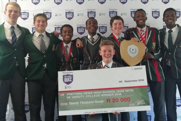 Pretoria Boys High School Quiz Team