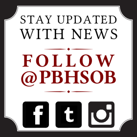 Follow the PBHSOB on Social Media